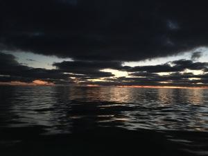 Sunrise over the Copper River Estuary