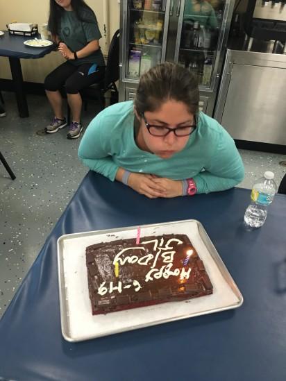 Jill's Birthday Cake