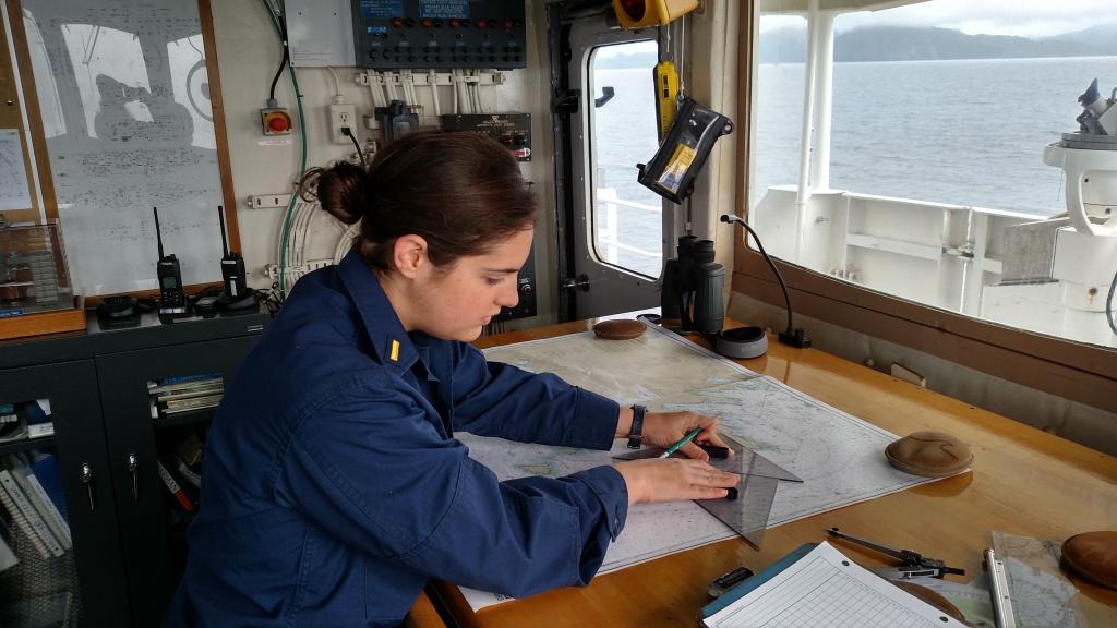 Danielle Koushel, NOAA Corps Junior Officer
