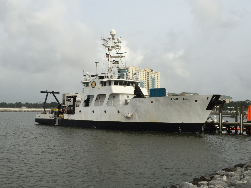 R/V Point Sur in port