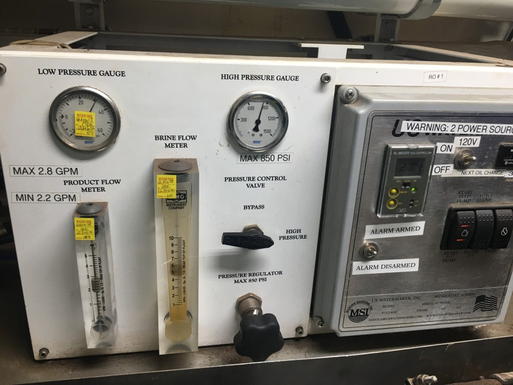 flow meters for potable water and brine