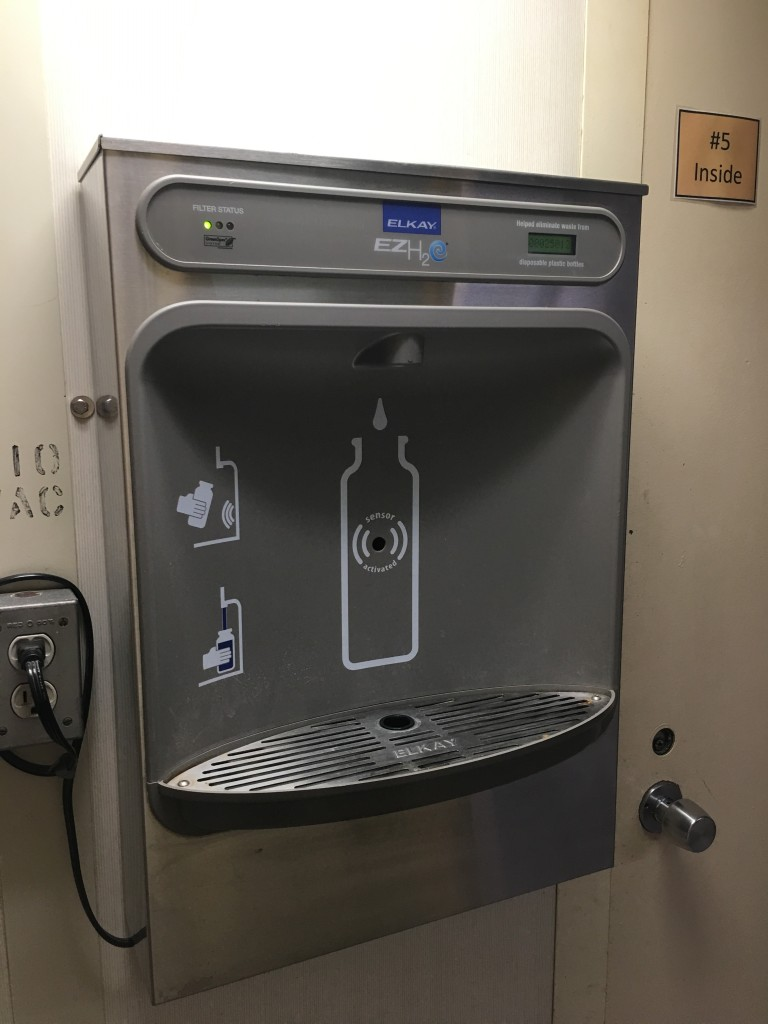 Filtered water station