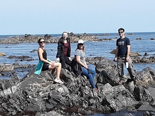 exploring Spruce Cape