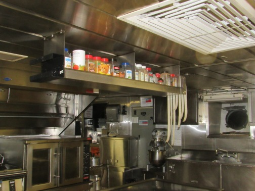 bear in the galley