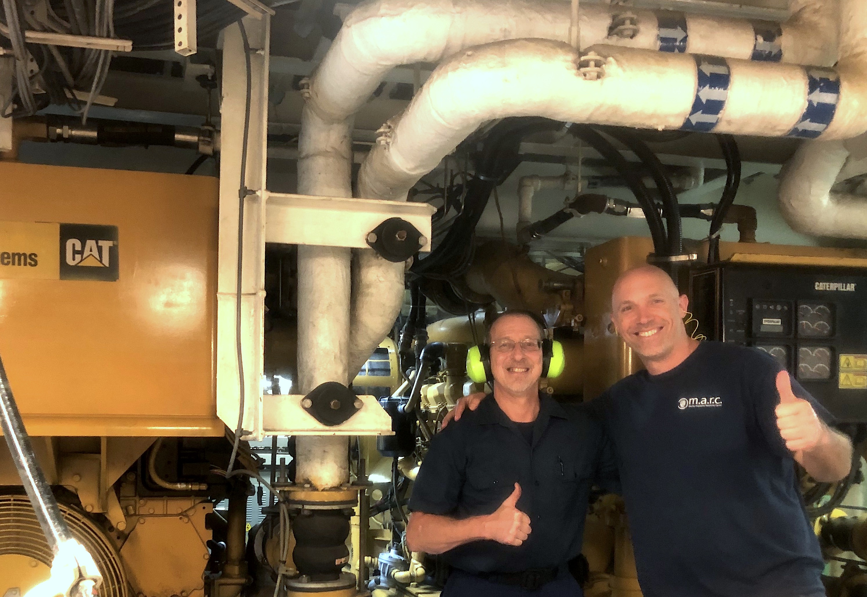 Dave and Steve and engines