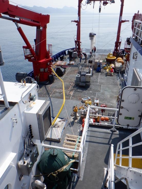 Working deck