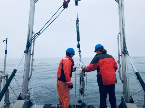 Dani and Shelley deploy CTD