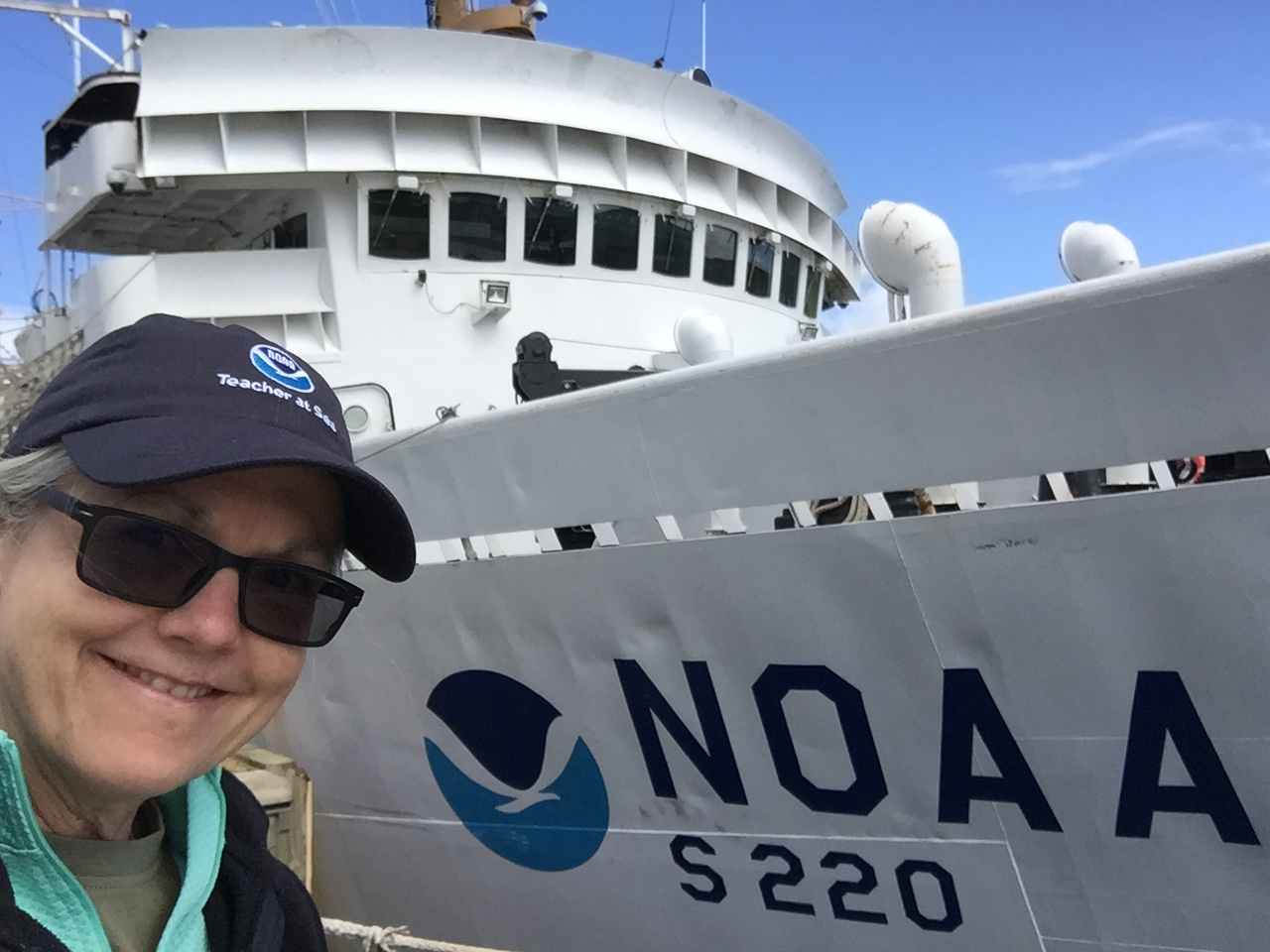 Arriving at NOAA Ship Fairweather