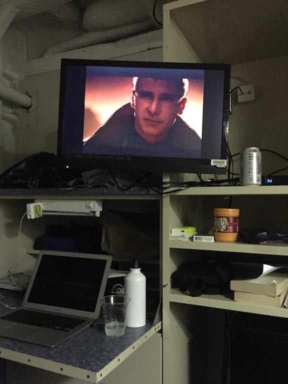 DVD in stateroom
