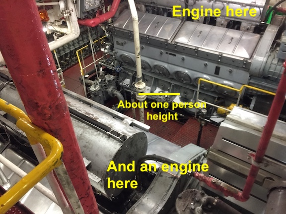 ship's engines