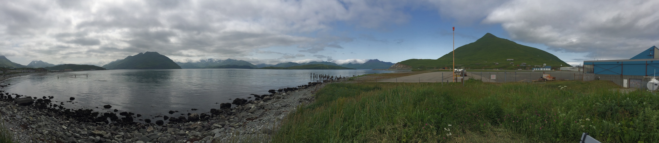 Dutch Harbor panorama