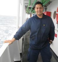 ENS Jeffery Calderon, Junior Officer