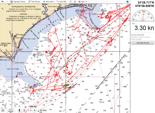 NOAA Pisces Full Track 7-20-19