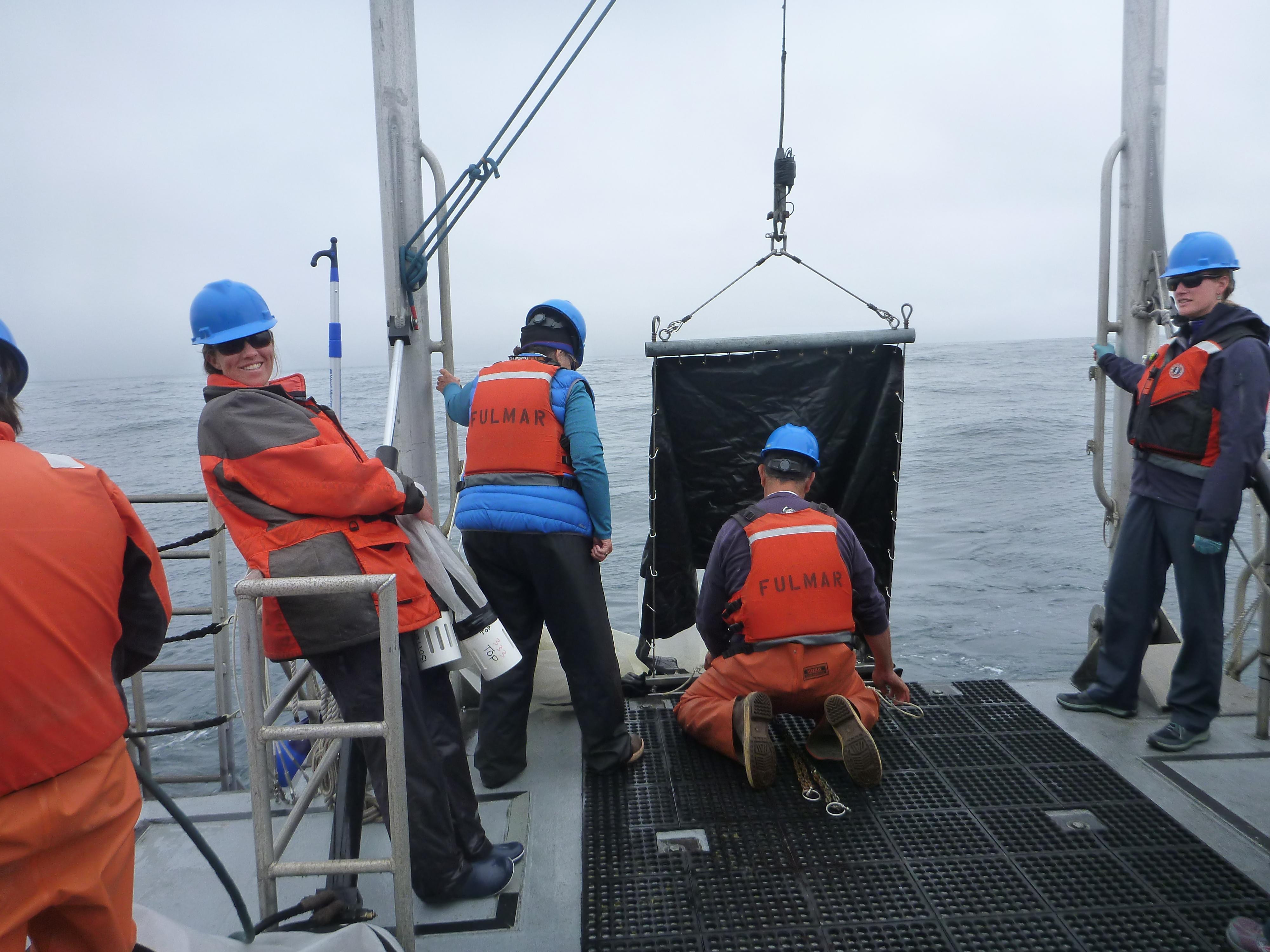 Tucker trawl net