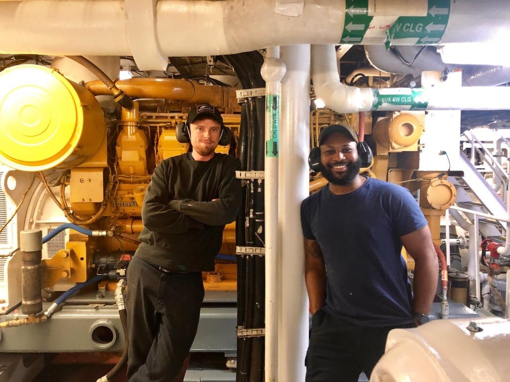 Engineers Kyle and Evan
