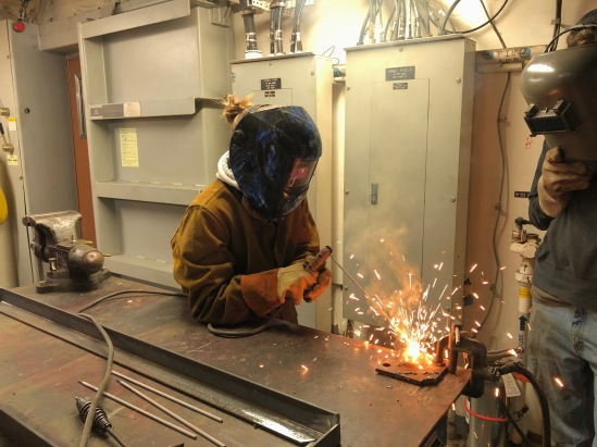 Jessica welding