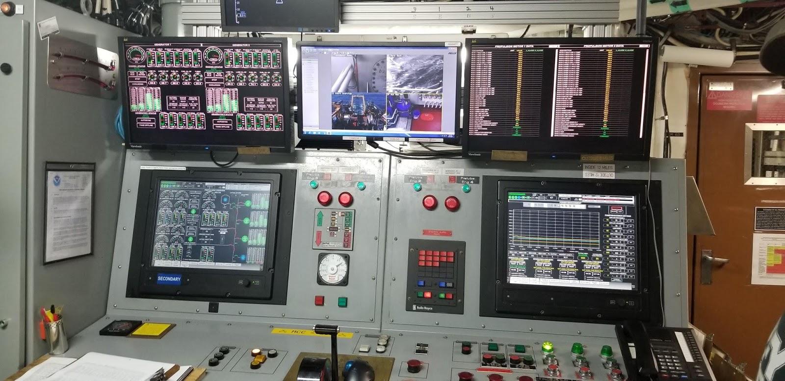 Oscar Dyson control panels