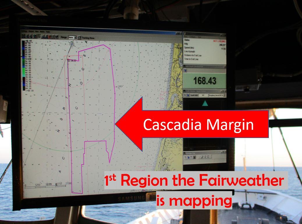 Cascadia Margin chart