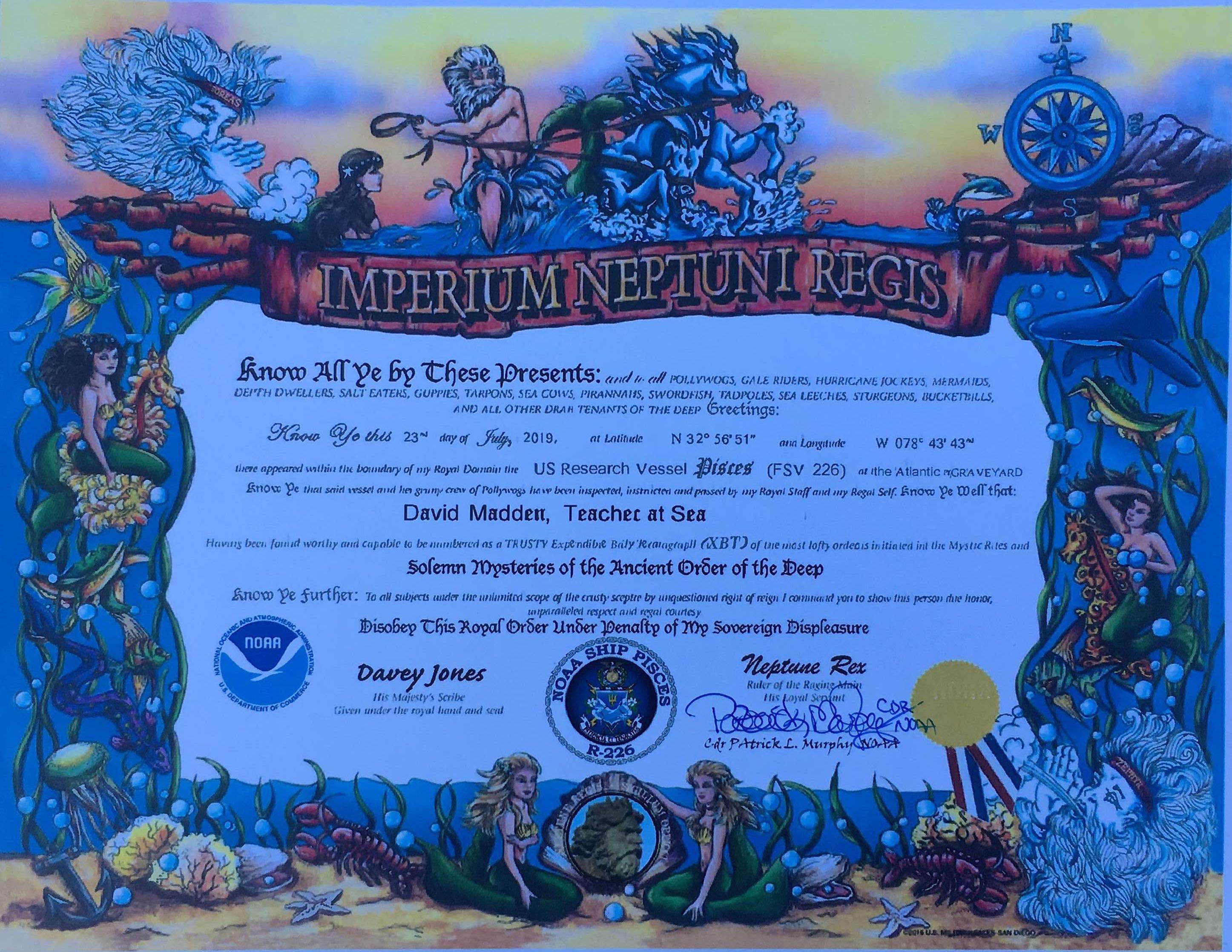 XBT certificate