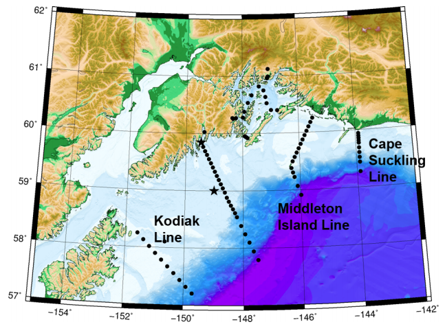 sampling station map